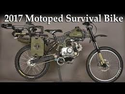 2017 motoped survival bike the ultimate machine for adventurer
