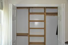 Cheap Closet Shelving Ideas With Clothes Rods For Bedroom Storage Design:  Simple Closet Shelving Ideas