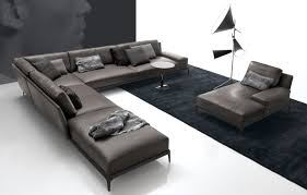 Leather sofa designs Beautiful Parksectionalleathersofa Archiproducts 10 Italian Leather Sofas And Their Versatile Designs