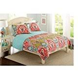 better homes and gardens comforters. Exellent Gardens 1  Better Homes And Gardens Quilt Collection Jeweled Damask By  U0026 In And Comforters P