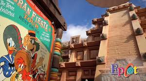 Gran Fiesta Tour Starring The Three Caballeros At Epcot Walt