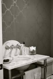 gray moroccan trellis wallpaper with