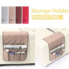 image is loading 5 pocket remote control organizer sofa chair arm