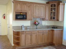 Medium Oak Kitchen Cabinets Furniture Have A Rustic Unfinished Base Cabinets For Home