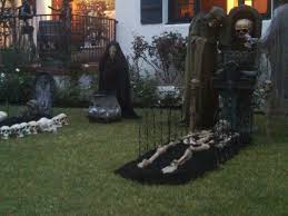 Surprising Outdoor Scary Halloween Decoration Ideas 54 For Designer Design  Inspiration with Outdoor Scary Halloween Decoration