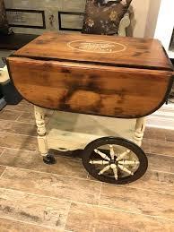 vintage tea cart image