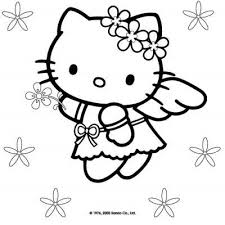 Small Picture HELLO KITTY CHRISTMAS COLORING PAGES Hello Kitty Pinterest