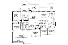 craftsman floor plans. Craftsman House Plan - Pinedale 30-228 First Floor Plans A