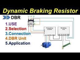 Dynamic Braking Resistor For Vfd Dbr Connection Rating Selection Hindi
