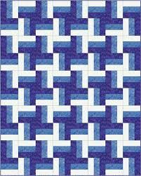 Best 25+ Beginner quilt patterns ideas on Pinterest | Beginner ... & Rail Fence Quilt Pattern Designs / Easy Beginner Quilt Pattern Adamdwight.com