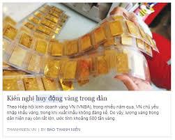 Image result for HUY ĐỘNG VÀNG & USD
