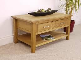 Modern Oak Living Room Furniture Nebraska Modern Oak 1 Drawer Coffee Table Coffee Tables Living