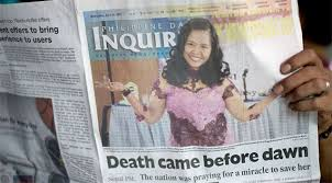 Tabloid newspapers, durban north, south africa. Newspapers In Philippines Wrongly Announce Mary Jane S Execution