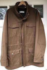 joseph abboud men s 3 4 length brown coat xlt big tall carhartt work jacket