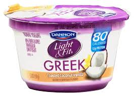 Dannon Light And Fit Greek Yogurt Calories Fitness And Workout