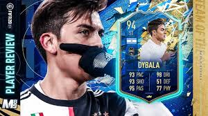 TOTS DYBALA PLAYER REVIEW | 94 TOTS DYBALA REVIEW | FIFA 20 Ultimate Team -  YouTube