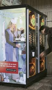 German Vending Machines Stunning German Company Brilliantly Proves That Anything Can Be Used As An
