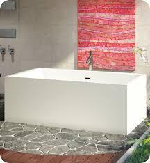 bainultra bnobrf00 nokori 5827 58 x27 freestanding customizable bath tub