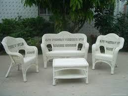 white wicker patio furniture outdoor fabulous 6