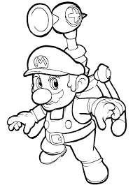 Super Mario Bros Coloring Pages Printables Mushroom Coloring Page