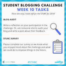 Student Blogging Challenge - Connect and learn through blogging