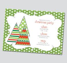 printable christmas invitations funky christmas trees holiday invitation printable thinkrsvp