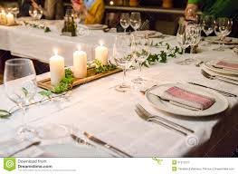 dining table set up images. dinner table setup stock photo image 51910727 - images . dining set up