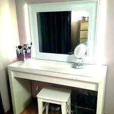 makeup desk with mirror and lights desk mirror vanity mirror desk makeup desk with lights for
