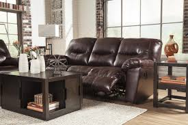 Ashley leather living room furniture Set Faux Leather Reclining Sofa Wolf Furniture Faux Leather Contemporary Reclining Sofa By Signature Design By