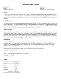 Design Proposal Sample 32 Sample Proposal Templates In Microsoft Word