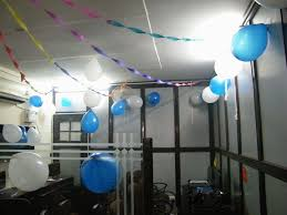 decoration of office. Anniversary Decoration - WebAcer Software Pvt. Gurukul (India) Of Office