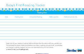 Similac Feeding Chart Pdf Baby Archives Page 6 Of 33 Pdfsimpli