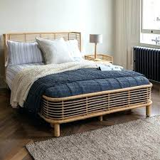 Gorgeous Rattan Bed Frame Full Home Improvement Cast Shows Hgtv ...