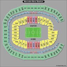 Mercedes Benz Stadium Soccer Seating Chart 57 Always Up To Date Mercedes Benz Stadium Seat Numbers