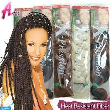 Extensions Cheveux Afro Braids Tresses Ombre Haute Temperature