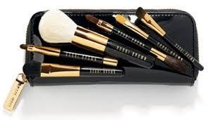 bobbi brown brush set. bobbi brown deluxe mini brush set