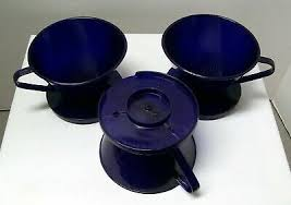 Free shipping both ways on keurig k10 mini plus cobalt blue from our vast selection of styles. Three 3 Melitta 2 Cobalt Blue Cone Filter Coffee Maker Perfect Brew Style New 6 24 Picclick