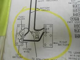 4020 batteries 12 24v yesterday's tractors 24 Volt 4020 Wiring Diagram here is a view 24 volt wiring diagram for john deere 4020