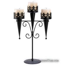 Medieval Style 3 Tier Candle Holder