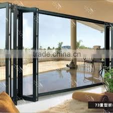 valenmis tempered glassdoor aluminum frame folding door double glazing aluminium bifold door of windows doors from china suppliers 109258113