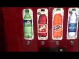 Soda Bottle Vending Machine Gorgeous Sprite From A Vending Machinea Cokegaderade Water Machi YouTube