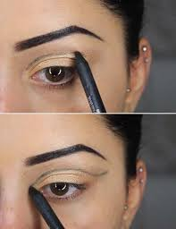 step 2 shape out your cut crease