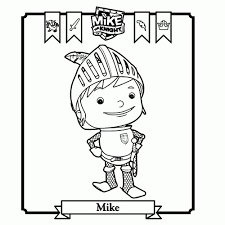 15 Awesome Mike The Knight Coloring Pages Karen Coloring Page
