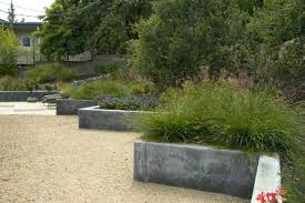 raised garden wall poured concrete raised beds landscape with raised garden bed walls
