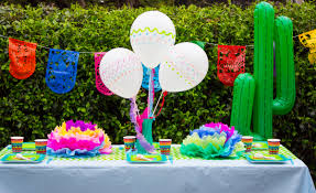Fiesta Table Decorations Throw A Fiesta Party