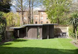 subterranean space garden backyard huts cabins sheds. Shedworking: Slightly Underground Garden Studio For A Choreographer Subterranean Space Backyard Huts Cabins Sheds R