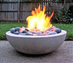 lovely glass bead fire pit diy 10 diy backyard fire pits