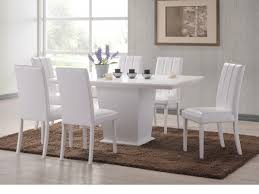 Delightful Ideas White Dining Table Vibrant Idea White Dining Room