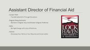 Assistant Director Of Financial Aid Cover Letter Perfect