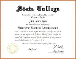 University Graduation Certificate Template Fake Diploma Cheaper Than